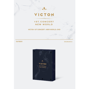 VICTON 1ST CONCERT [NEW WORLD] DVD