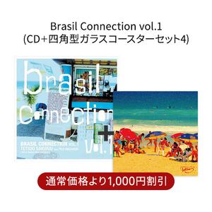 四角コースターセット:Brasil Connection Vol.1_4_red