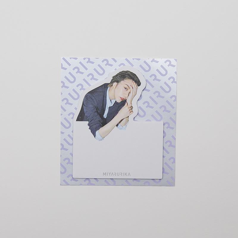 MIYA RURIKA フォト付箋【B】