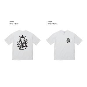 CMB CROWN Tシャツ / ホワイト