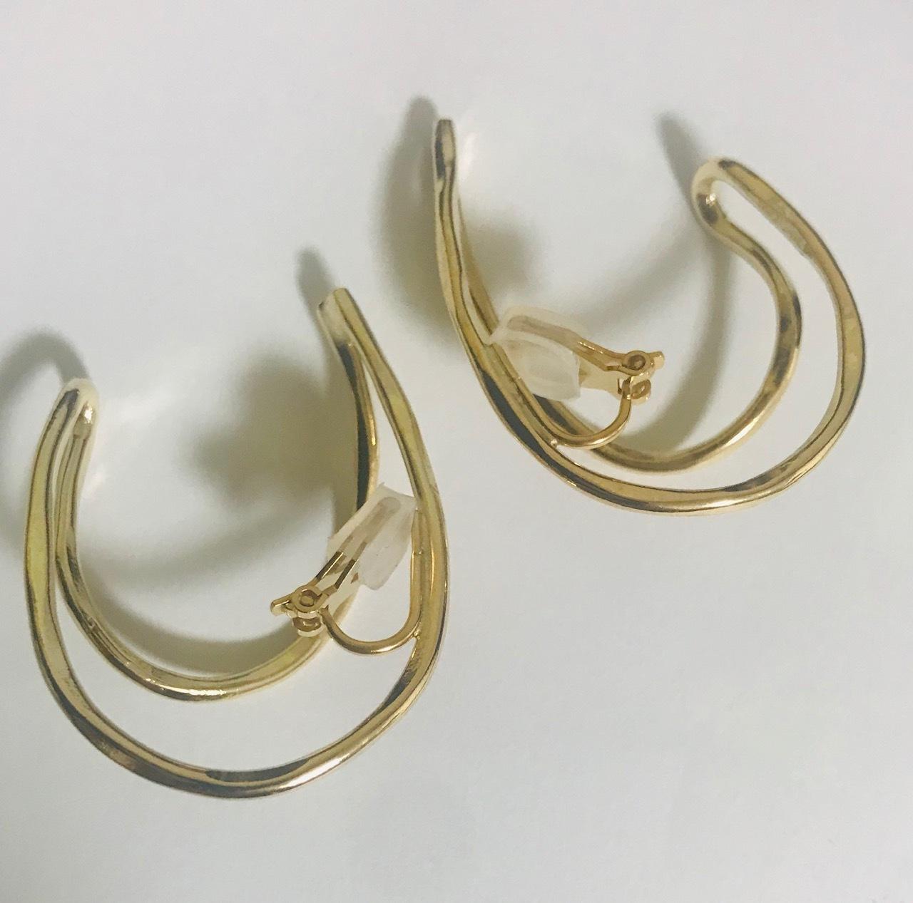 MH Ear Cuff loop earring(GOLD)