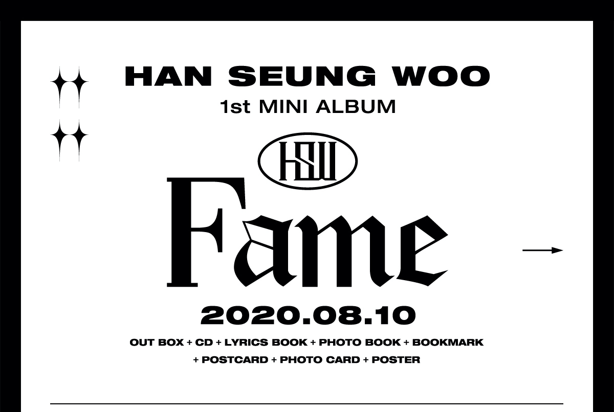 【HAN ver.】ハン・スンウ 1st Mini Album『Fame』