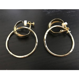 MH 2Way Hoop Earring(GOLD)