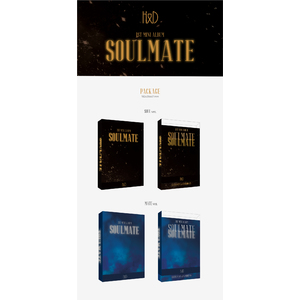 【3部応募用】H&D 1st Mini Album「SOULMATE」2枚セット