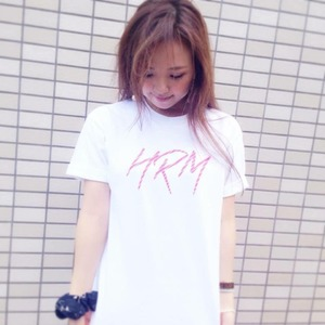 HRMロゴ Tシャツ (WHITE)