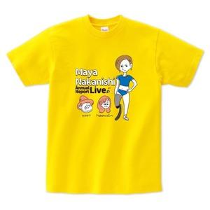 中西麻耶×NakamuraEmi×HIPPY 応援オリジナルTシャツ(デイジー)