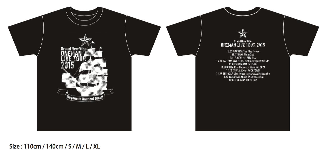 ツアーTシャツ 2015 KIDS