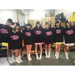 愛乙女★DOLL 6thワンマンライブ記念Tシャツ ★メンバー全員サイン入り