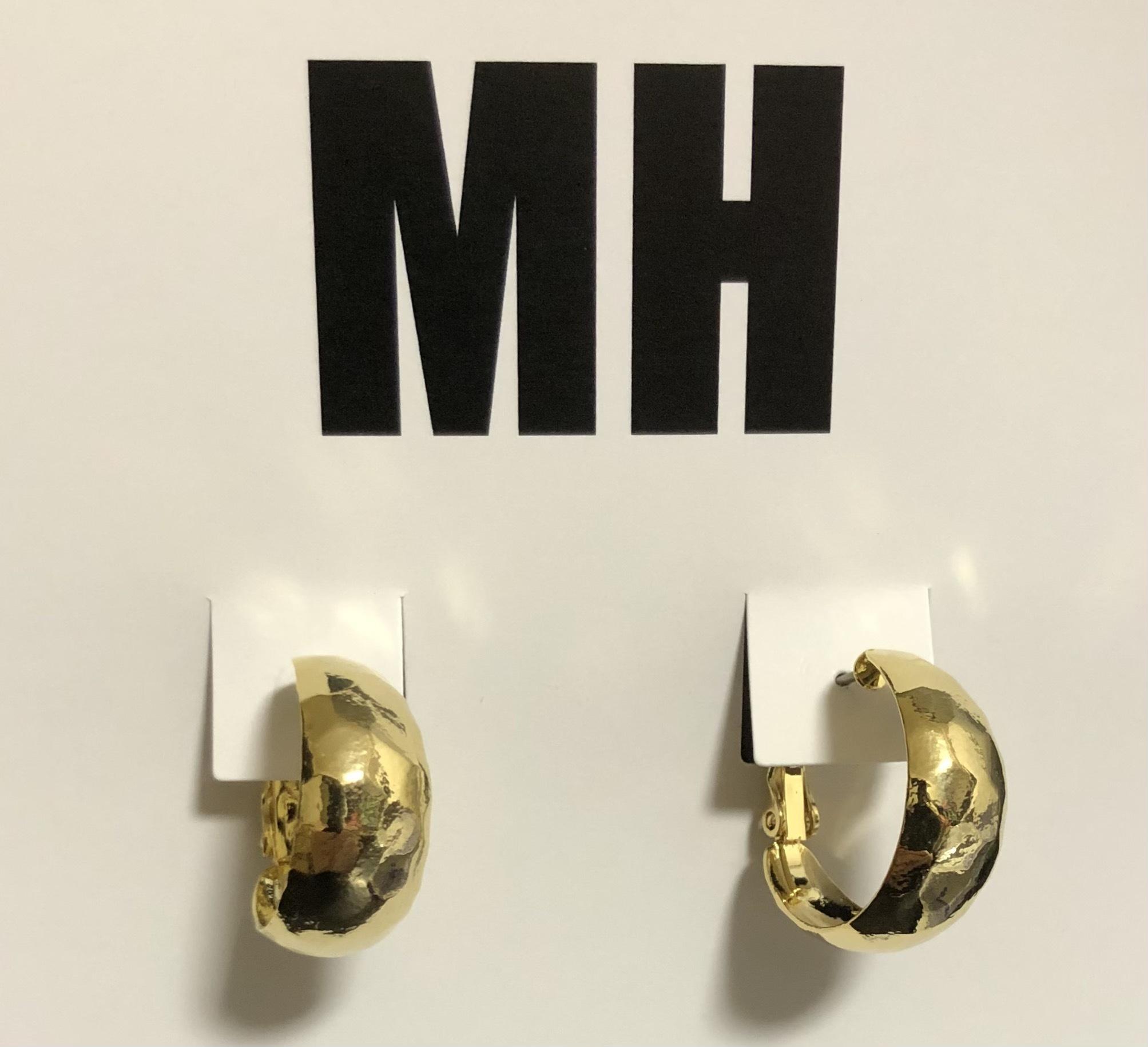 MH 2Wayフープピアス (ゴールド)