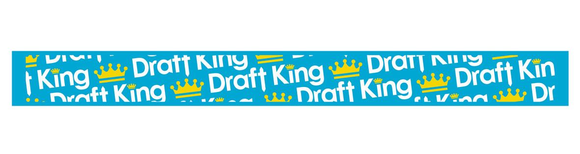 Draft King ラバーバンド(blue・pink・yellow)
