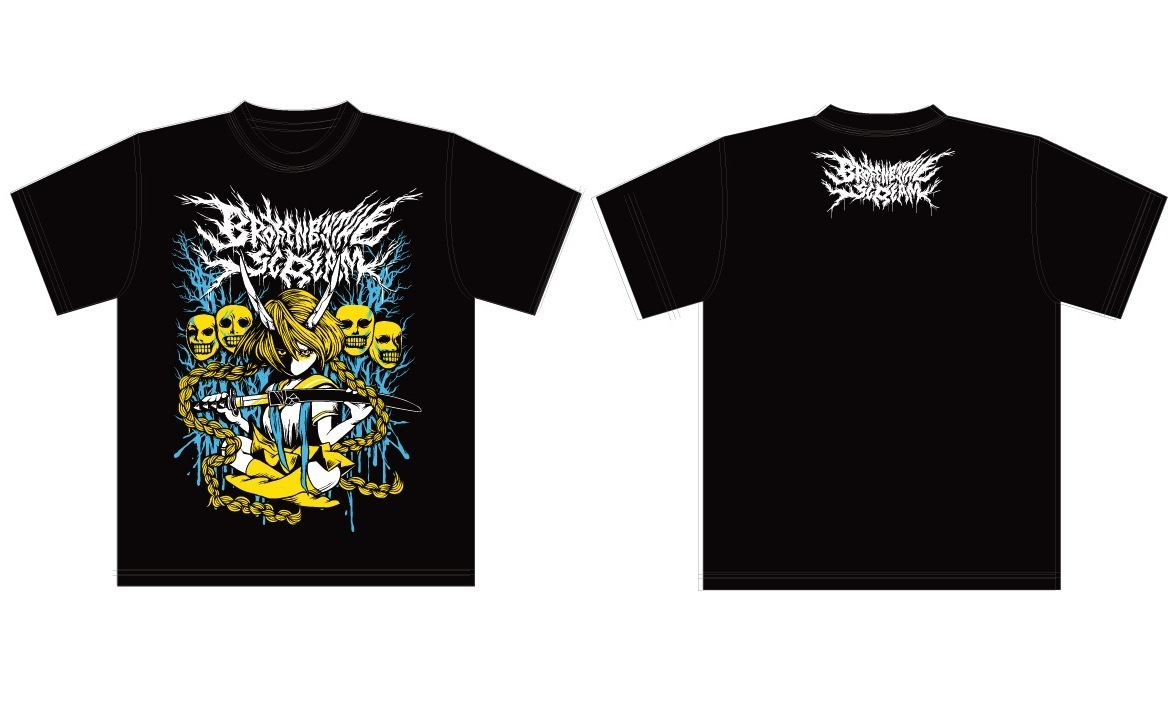 【New】NNF Tシャツ- Feverカラーver.(イエロー×アクア)