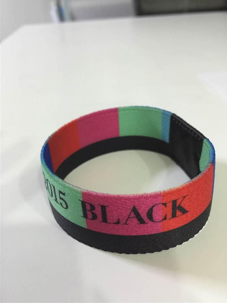 BLACK ストレッチブレスレット