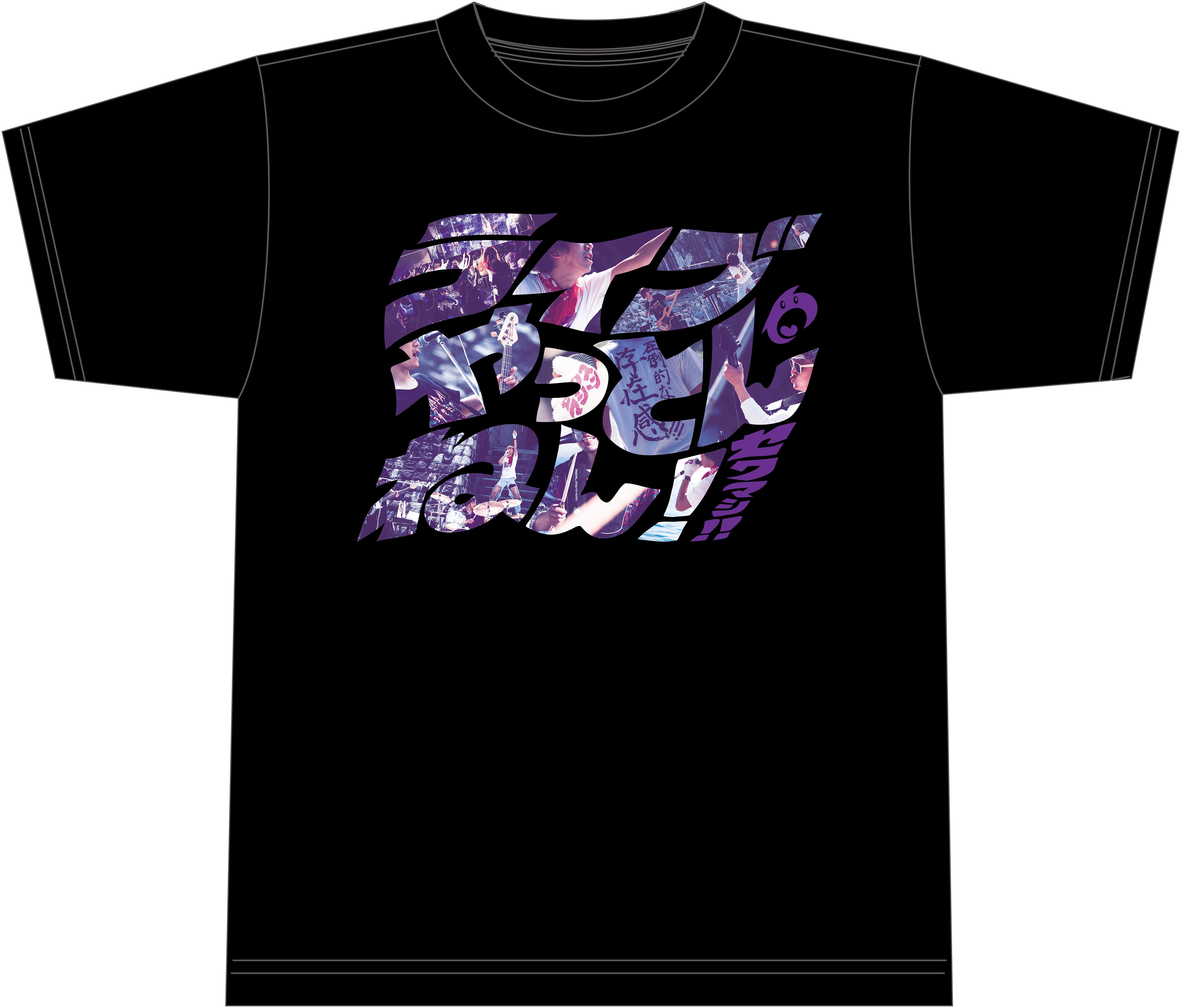 ライブやっとんねん!!Tシャツ(ホワイト、ブラック)