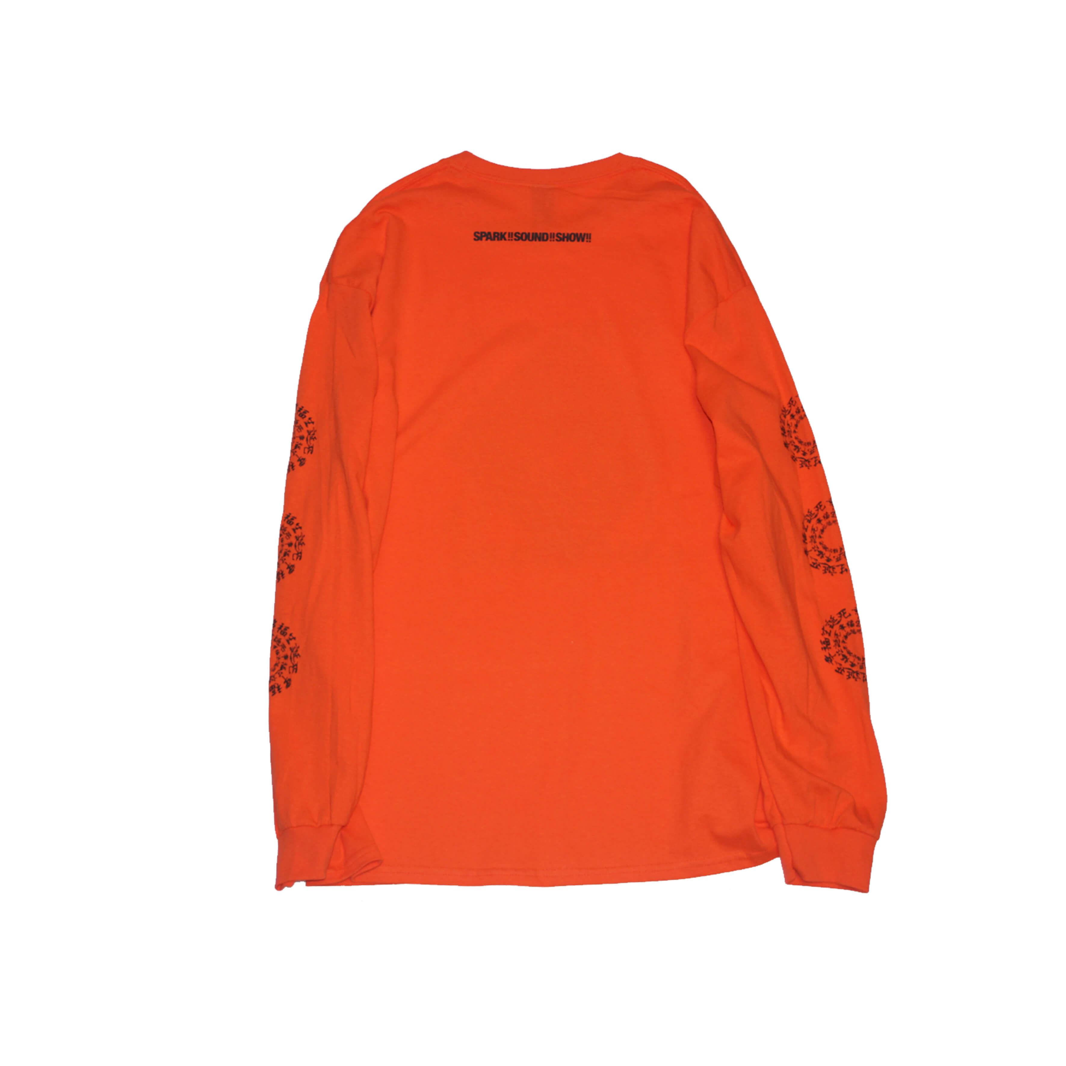 幸福生誕死 Long Sleeve T-Shirt (ORANGE)