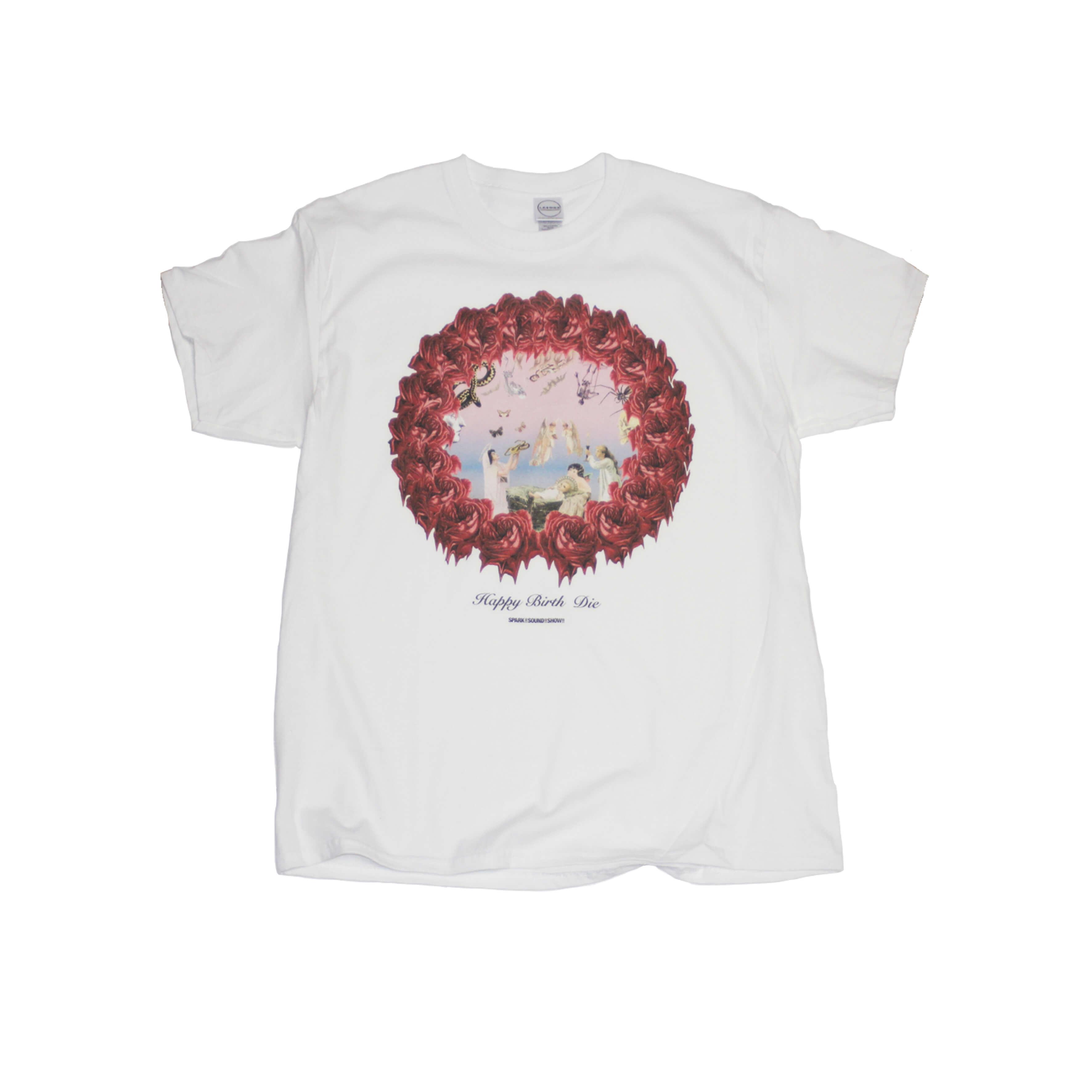 HAPPY BIRTH DIE T-Shirt (WHITE)