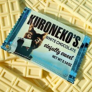 チョコレート風パスケース white chocolate ver.