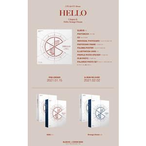 【オンライン特典会2部/2枚セット】CIX 4th EP Album「'HELLO' ChapterØ. Hello, Strange Dream」