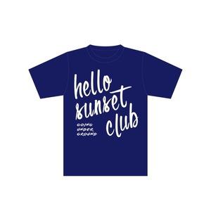 【SALE】「hello sunset club tour」オフィシャルツアーTシャツ