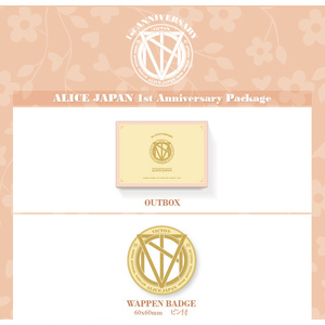 ALICE JAPAN 1st Anniversary Package