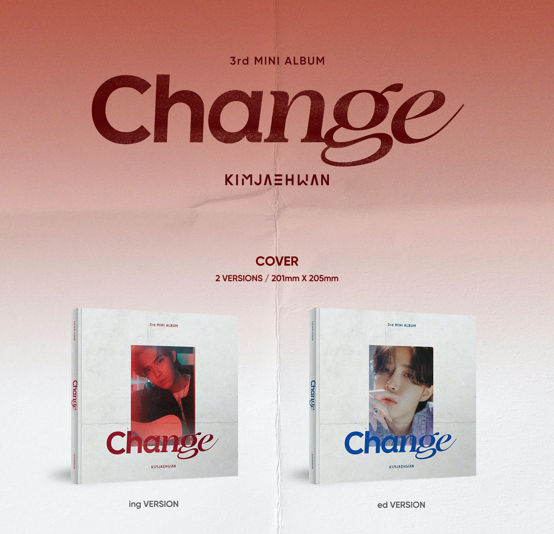 【オンライン特典会2部/2枚購入】キム・ジェファン3rd MINI ALBUM 'Change'