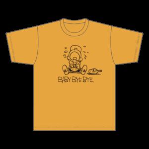 BABY BYE BYE  Tシャツ / イエロー ※会員限定