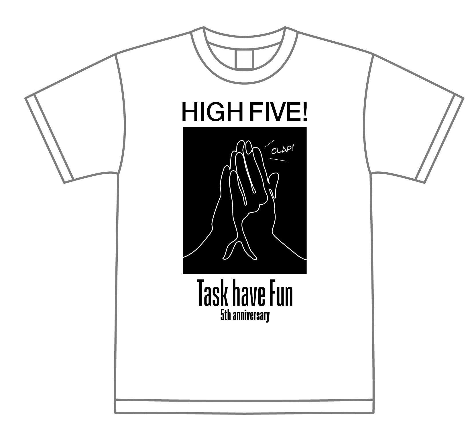 GoTask5!!!Tシャツ(ホワイト)