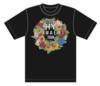 HANAEMI リース Tシャツ(BLACK)