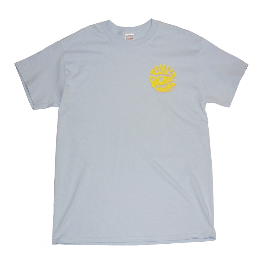 Psychedelic Logo TEE(ライトブルー)