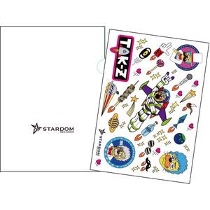 TAK-Zステッカーシート&クリアファイル