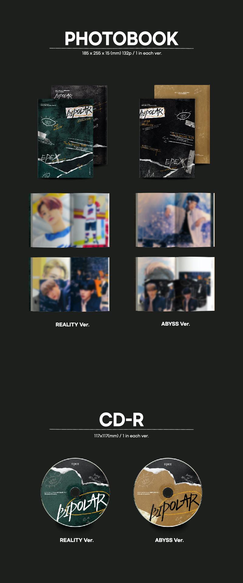 【7月18日開催/2部】EPEX 1st EP Album [BIPOLAR Pt.1 : Prelude of Anxiety 불안의 서]【オンライン個別握手会対象】