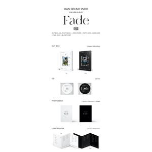 【販売終了/7月12日開催/1部/2枚セット購入用】ハン・スンウ 2nd Mini Album [Fade]【オンライン握手会抽選対象】