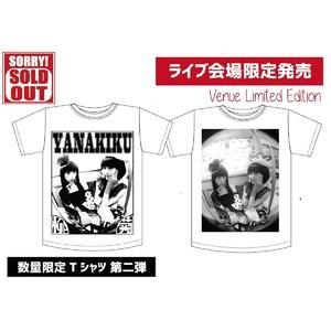 <数量限定Tシャツ第二弾>フォトグラファー米原康正×YANAKIKU Tシャツ